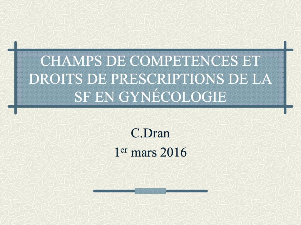 2016 Intervention C.DRAN 1-3-16